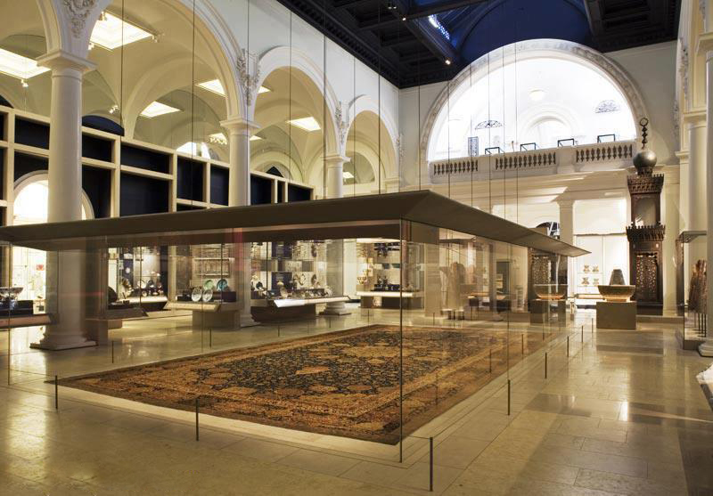 موزه آلبرت و ویکتوریا - فرش شیخ صفی
